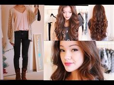 Back to School: Picture Day Makeup and Hair - YouTube