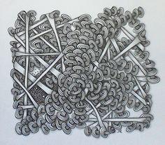 Zentangle Wheelz By Lena