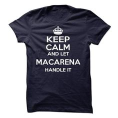 Macarena - #fathers gift #gift for kids. LOWEST SHIPPING:  => https://www.sunfrog.com/Names/Macarena-59905961-Guys.html?id=60505