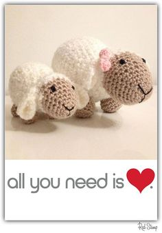 Mommy Lamb and Lambie by Las Marinas