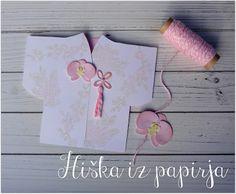Hiška iz papirja: Kimono