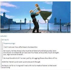 My favorite part about this... we remember it's an animated cartoon right?