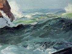 paintings of Wave by Bellows George