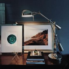Lovely vignette of our Bowery frame from @tarasharma. #Framebridge #workspace