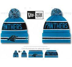 NFL Knit Bean Panthers - NFL Knit Bean - Caps Bennies Hats e058c9681