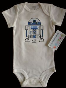 R2D2 onesie! You bet my kid is wearing one of these.