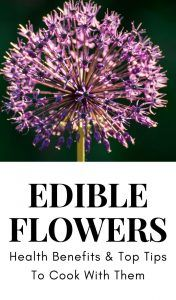 Edible flowers add flair to your cooking but some have health benefits too! Learn which top 5 edible flowers to use find recipes and tips and tools to use and grown them too! Healthy Herbs, Healthy Kids, Healthy Eating, Healthy Treats, Healthy Soup Recipes, Raw Food Recipes, Salad Recipes, Vegetable Recipes, Drink Recipes