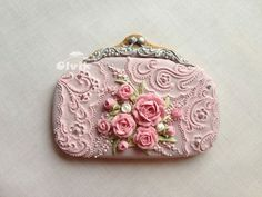 Gorgeous detail on a sweet little purse