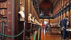 Biblioteca de la Universidad de Trinity en Dublín - Externa