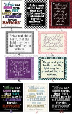 Blooming Homestead: 2012 Youth Theme Printables
