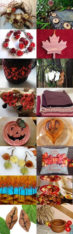 Glimpse of Autumn by Mishelle Ringe on Etsy--Pinned+with+TreasuryPin.com