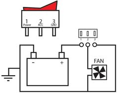 On/Off Switch & LED Rocker Switch Wiring Diagrams . We have a variety of switches, rocker switches, toggle switches and more. Car Audio Installation, Electrical Installation, Ls Engine Swap, Diy Camper Trailer, Electrical Diagram, Electronics Basics, Electric Circuit, Boat Projects, Electrical Connection
