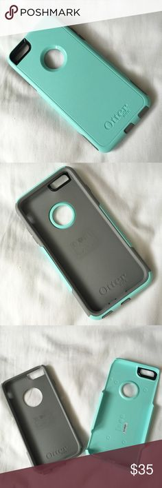 NWOT 6 Plus/6S Plus Otterbox Commuter Brand new Otterbox Commuter Case for iPhone 6 Plus/6S Plus. Aqua/Gunmetal Grey color. Has two layers for shock absorption if dropped. OtterBox Accessories Phone Cases
