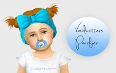 "sims4nexus:  ""simiracle:  ""Voidcritters Pacifier ♥  Credit for the mesh to @emysimss  Custom Thumbnail  [SimFileShare] or [SimsDom]""  Adorable!  """