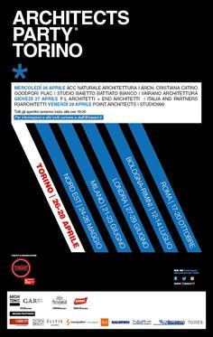 Tubes è partner della prima tappa dell'edizione 2017 di ArchitectsParty, il format ideato da Towant che si svolgerà a Torino dal 26 al 28 aprile all'interno di noti studi di architettura.   #Tubesradiatori #tubes4architects
