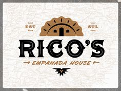Rico's Empanada House | Logo by Ryan Doggendorf