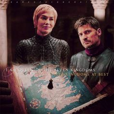 G A M E O F T H R O N E S  Cersei & Jaime 7x01 ]  This scene was so pretty and I lovveeeeeed the tension between these two! #GameofThrones