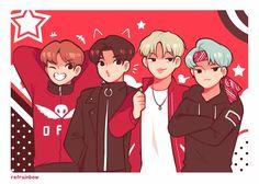 Page 3 Read _Fanarts De BTS_ from the story ♡Fanarts e Imágenes Sin Censura de BTS♡ by (💜PurpleYou💜) with reads. Bts Chibi, K Pop, Dibujos Cute, Bts Drawings, Bts And Exo, Korean Art, Bts Fans, Kpop Fanart, Wattpad
