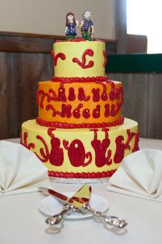 Beatles wedding cake :)