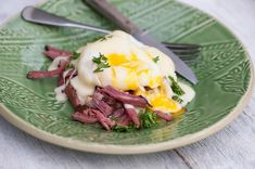 Here's what you do with all that forthcoming leftover corned beef...Irish Eggs Benedict!