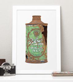 Vintage Pilser Pale Ale Photo Art | Art Prints | The Beer Book | Scoutmob Shoppe | Product Detail