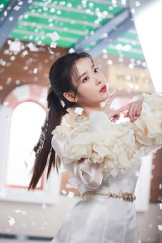 Cute Korean Girl, Asian Girl, Iu Fashion, Korean Actresses, Korean Celebrities, Korean Beauty, K Idols, Kpop Girls, Lilac