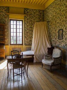 Les Charmettes, house of Mme de Warens and J.J. Rousseau, Chambéry (Savoie…