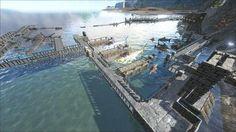 https://i.imgur.com/AoLXmtJ.jpg Water Dinos base in Ark Survival Evolved.