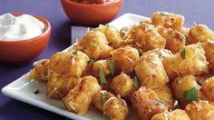 Potato Nugget Nachos