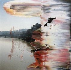 Gerhard Richter |Untitled (22.1.2000, Firenze) | 2000 12cm x 12cm | Oil on colour photograph