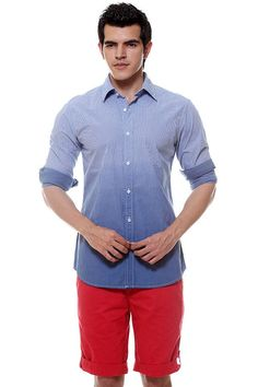 Blue Ombre Shirt