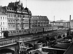 Jannowitzbrücke, S-Bahn-Bogen, Foto Pragher, 1930: