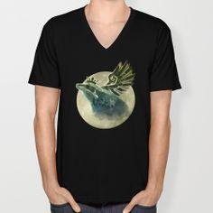 Frog Prince Midnight Fantasy V-neck T-shirt by Nirvana.K | Society6