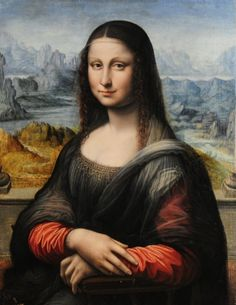 This replica of the Mona Lisa was originally thought to have been painted much later than the original. However, new restoration and research suggests that it might have been painted by a student of Leonardo's at the same time the master was creating the original Mona Lisa.