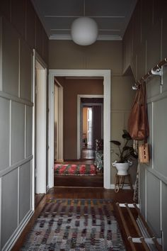 House Interior, Home, Interior, Scandinavian Furniture Design, Home Furniture, Furniture Design Modern, Swedish Decor, Home Decor, Hallway Decorating