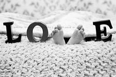 Cutest baby feet photo!