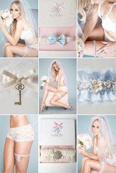 Wedding garter ideas from La Gartier! ---> http://www.weddingchicks.com/2014/06/03/sexy-up-your-thighs/