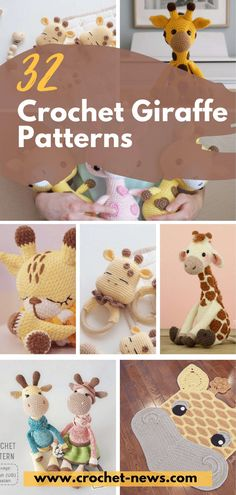 32 Crochet Giraffe Patterns - Crochet News Giraffes are one of the most loved animals on the planet. With their beautiful long necks, it's easy to see why they are a favorite.Crocheted giraffes can be your kid's best toy to snuggle a Giraffe Blanket, Giraffe Toy, Cute Giraffe, Cute Crochet, Crochet Yarn, Easy Crochet, Crochet Toys, Crochet Giraffe Pattern, Crochet Patterns