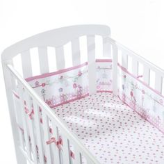NEW BAMBI cot//Cotbed Bedding Full Set QUILT BUMPER CUSHION ETC Fab