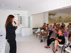 Lara de Campos Syaulis fala para chaverot da Na'amat