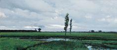 Before the Rain by Józef Rapacki (Polish,1871 - 1929)