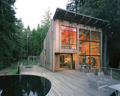 Dwell - Beauty and Brains: Building Sustainably With Redwood