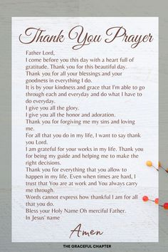 26 Thanksgiving Bible Verses - The Graceful Chapter