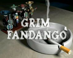 Grim Fandango title screen