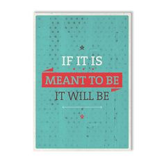 Meant To Be Print design inspiration on Fab.