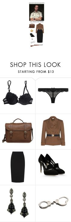 """Hot Dads"" by catherinecheshire ❤ liked on Polyvore featuring Cotton Club, Agent Provocateur, Mulberry, Miu Miu, Hobbs, STELLA McCARTNEY, 1928, RIFLE, TeenWolf and sheriffstilinski"