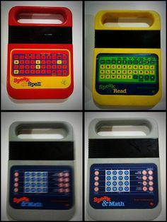 Speak & spell; had the red one!