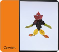 leaf people... fun for fall, learning about families, arbour day, nature, or at fall camp