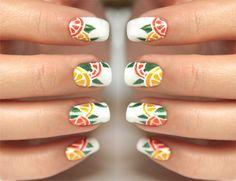 Manicure Monday: Citrus Nails with Syl and Sam! - Lulus.com Fashion Blog