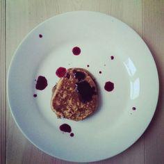 Liqourice pancakes